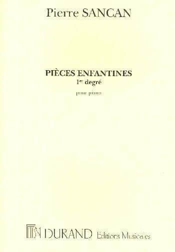 Pièces Enfantines 1er Degré - Pierre Sancan - laflutedepan.com