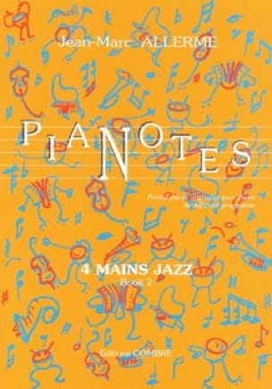 Jean-Marc Allerme - Pianotes 4 Hands Jazz Volume 2 - Partition - di-arezzo.com