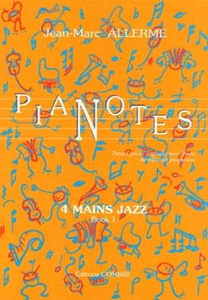 Jean-Marc Allerme - Pianotes 4 Hands Jazz Volume 1 - Partition - di-arezzo.com