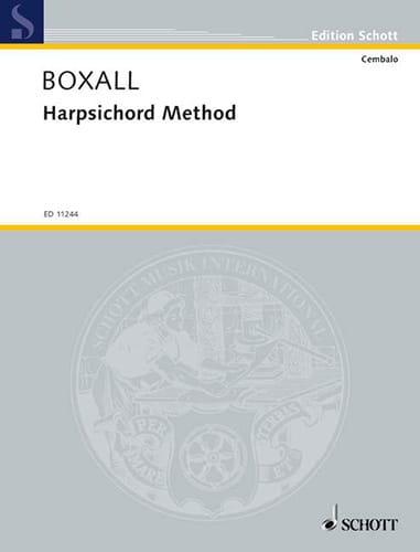 Maria Boxall - Harpsichord Method - Partition - di-arezzo.co.uk