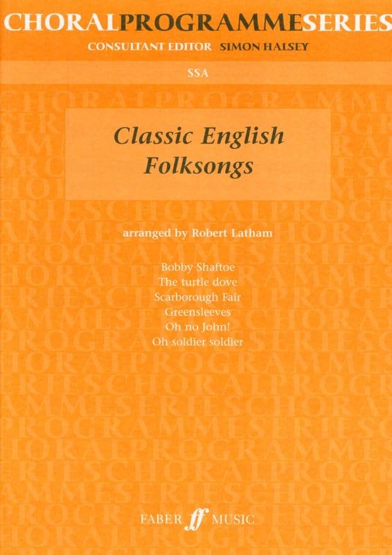 Classic English Folksongs - Partition - Chœur - laflutedepan.com