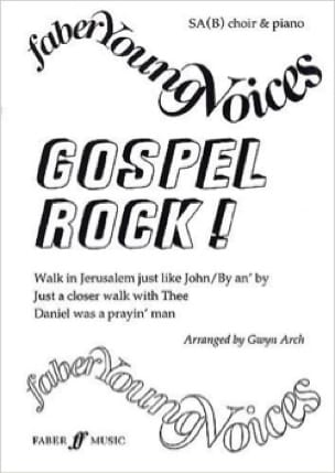Gospel Rock - Partition - Chœur - laflutedepan.com