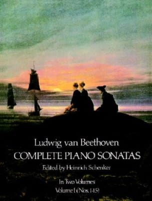 Complete Sonatas Volume 1 - BEETHOVEN - Partition - laflutedepan.com