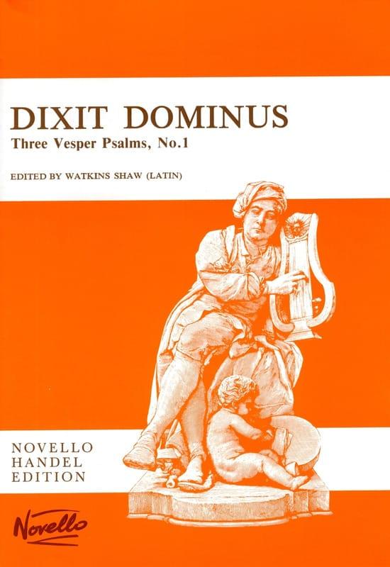 HAENDEL - Dixit Dominus - Partition - di-arezzo.es