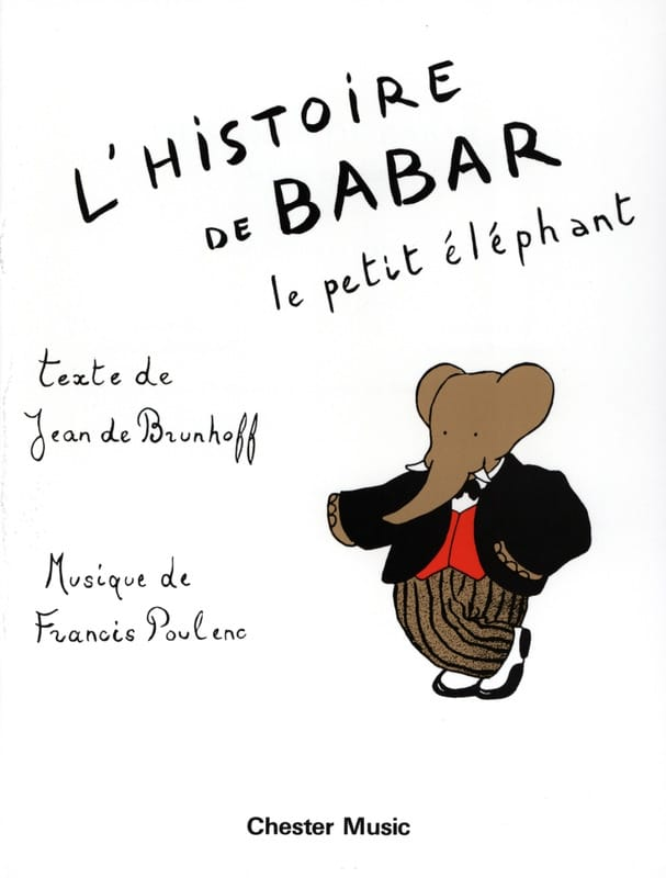 Francis Poulenc - The Babar Story - Partition - di-arezzo.co.uk