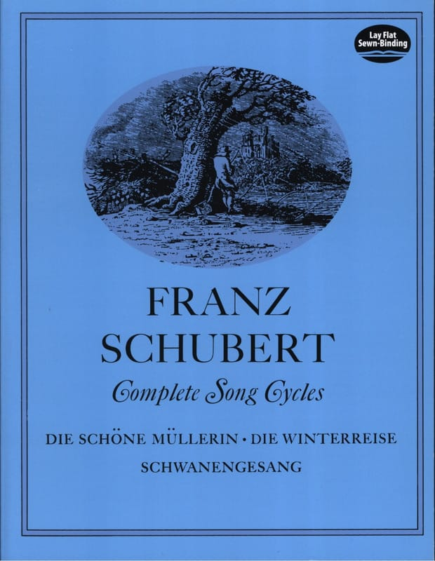 SCHUBERT - Complete Songs Cycles - Partition - di-arezzo.co.uk
