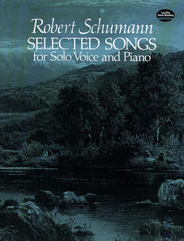 Selected Songs - SCHUMANN - Partition - Mélodies - laflutedepan.com