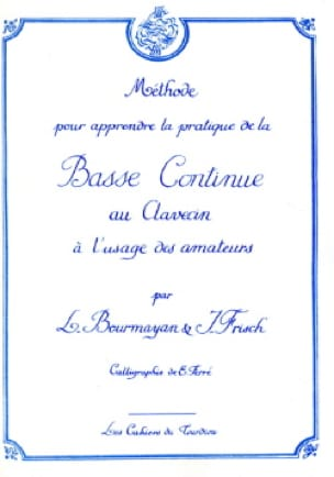 Bourmayan - Frisch - Bass continues to the harpsichord - Partition - di-arezzo.co.uk