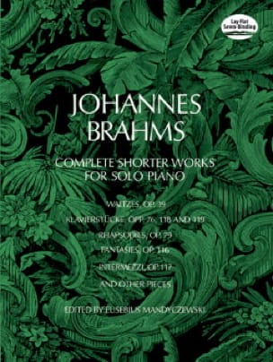 BRAHMS - Complete Shorter Works - Partition - di-arezzo.co.uk