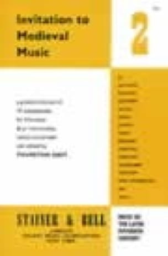 Invitation To Medieval Music Volume 2 - laflutedepan.com