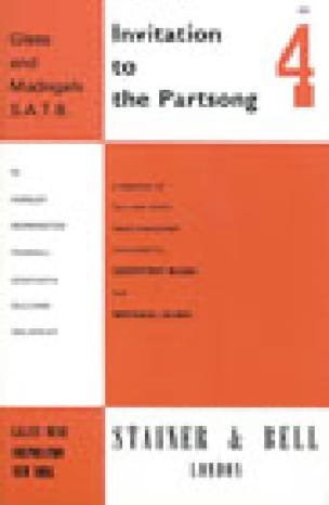 Invitation To The Partsong Volume 4 - Partition - laflutedepan.com