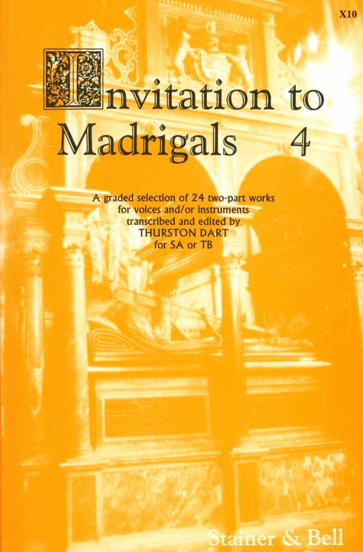 Invitation To Madrigal Volume 4 - Partition - laflutedepan.com