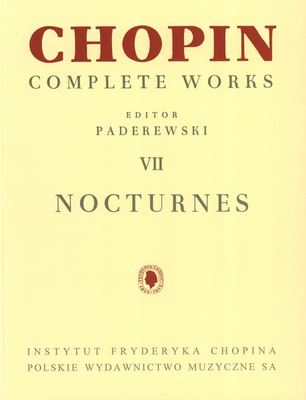 CHOPIN - Nocturnes - Partition - di-arezzo.co.uk