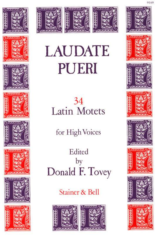 Laudate Pueri - Partition - Chœur - laflutedepan.com