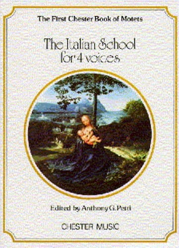 The Italian School For 4 Voices - Partition - laflutedepan.com