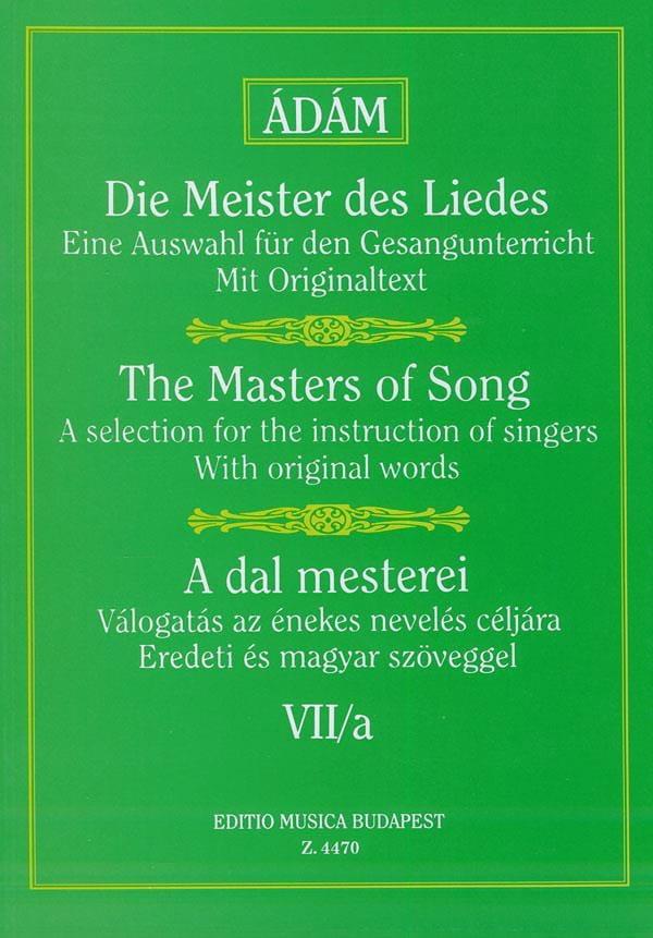 A Dal Mesterei Volume 7a - Partition - Mélodies - laflutedepan.com