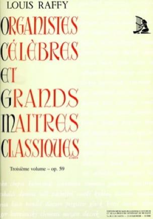 Organistes Célèbres et Grands Maîtres Classiques Volume 3 - laflutedepan.com