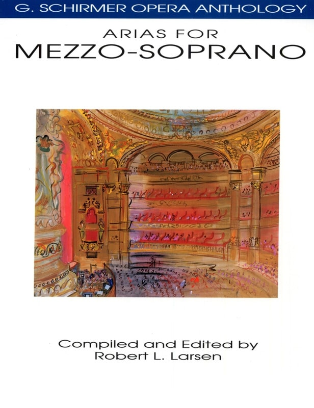 - Opera Anthology: Arias For Mezzo - Partition - di-arezzo.com