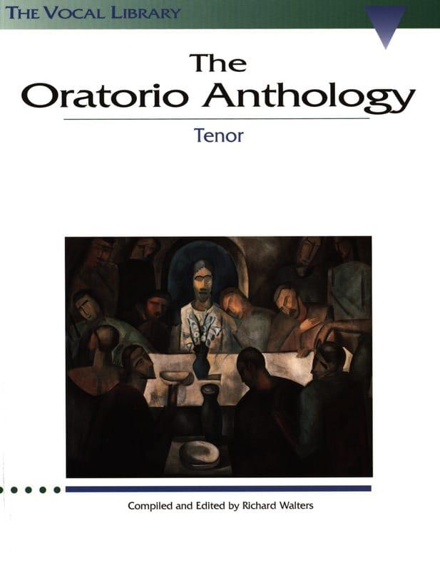 The Oratorio Anthology. Ténor - Partition - laflutedepan.com