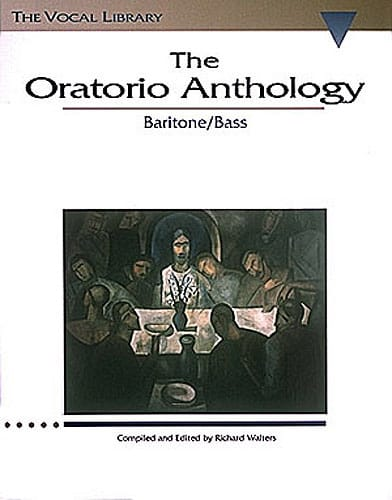 - The Oratorio Anthology. Baritone / Bass - Partition - di-arezzo.co.uk