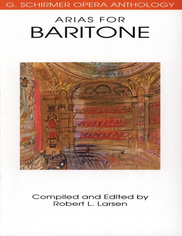 - Opera Anthology: Arias For Baritone - Partition - di-arezzo.co.uk