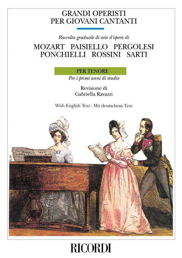 - Grandi Operisti Per Giovani Cantanti. Tenor - Partition - di-arezzo.com