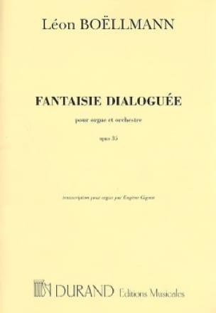 Léon Boëllmann - Dialogued Fantasy Op. 35 - Partition - di-arezzo.co.uk