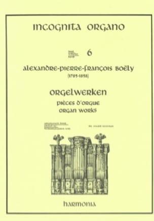 Alexandre Pierre François Boëly - 7 piezas de órgano - Partition - di-arezzo.es