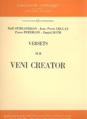 Versets Sur Veni Creator - Partition - Orgue - laflutedepan.com