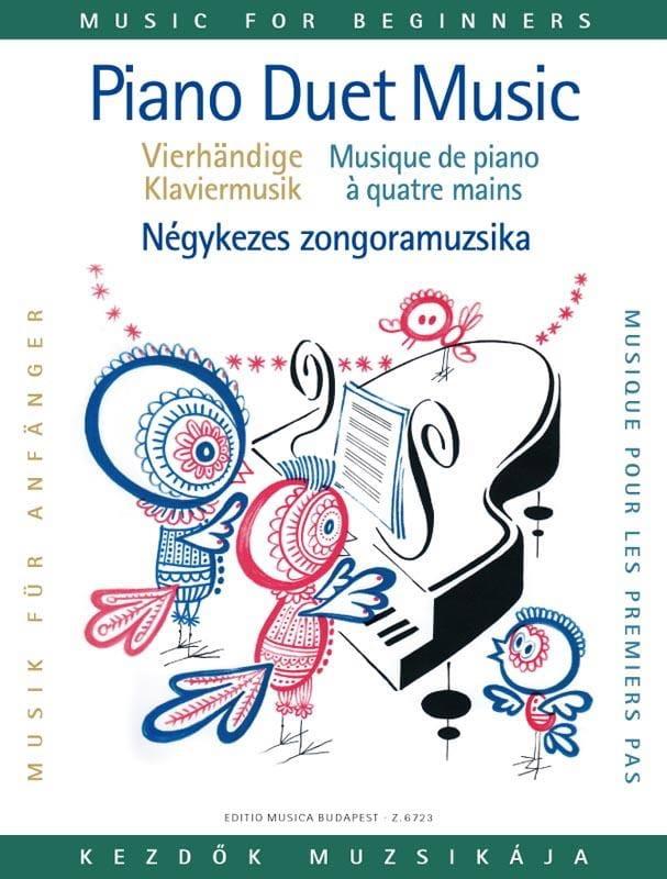 Piano Pour les Premiers Pas A 4 Mains - laflutedepan.com