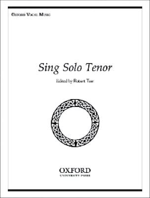 Sing Solo Tenor - Partition - Recueils - laflutedepan.com