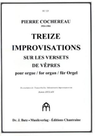 Pierre Cochereau - 13 Improvisations on Verse's Verses - Partition - di-arezzo.com