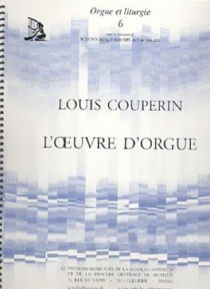 Louis Couperin - The Organ Work - Partition - di-arezzo.com