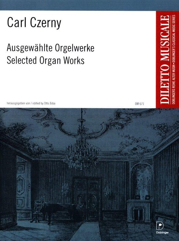 Ausgewählte Orgelwerke - CZERNY - Partition - Orgue - laflutedepan.com