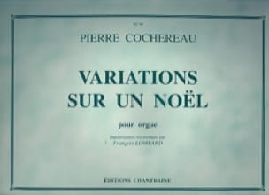 Pierre Cochereau - Variations on a Christmas - Partition - di-arezzo.com