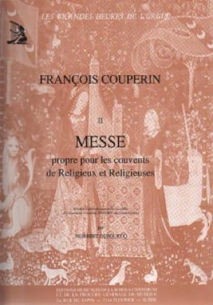 Messe Pour les Couvents - COUPERIN - Partition - laflutedepan.com