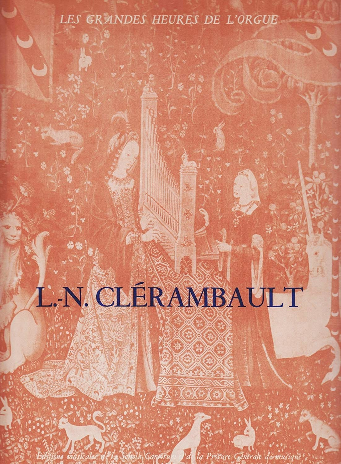 Louis-Nicolas Clérambault - 1st Organ Book - Partition - di-arezzo.co.uk