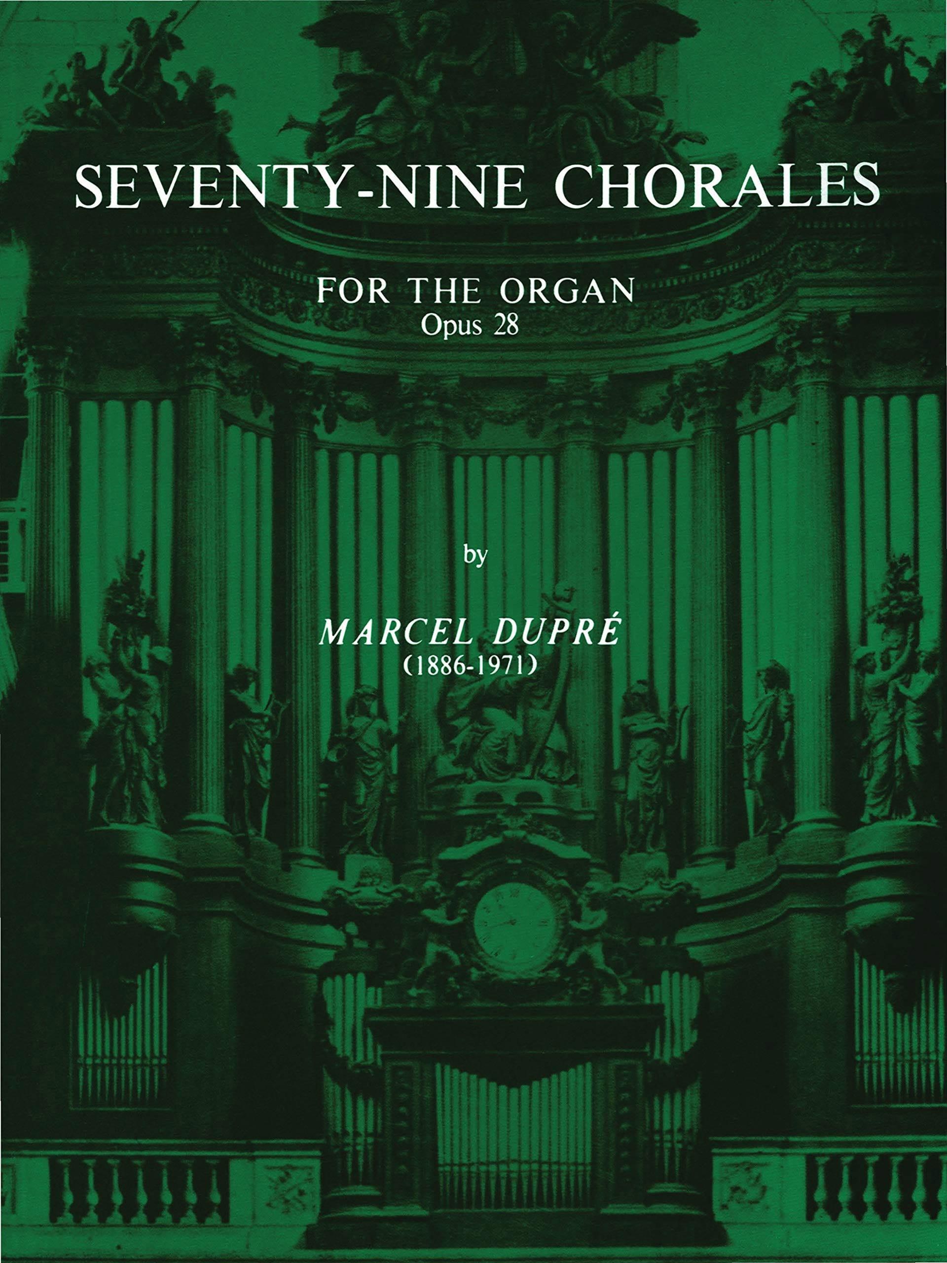 Marcel Dupré - 79 Chorals Opus 28 - Partition - di-arezzo.fr