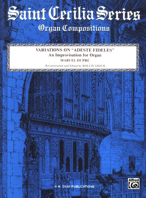 Variations sur Adeste Fideles - DUPRÉ - Partition - laflutedepan.com
