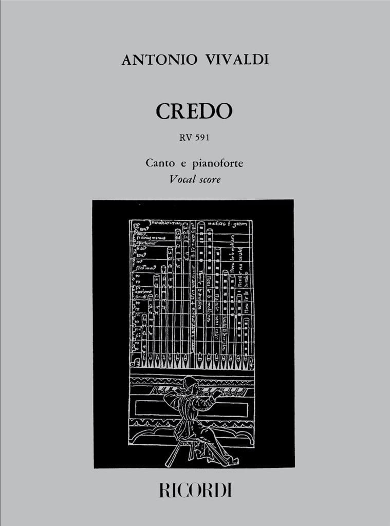 VIVALDI - Creed. RV 591 - Partition - di-arezzo.it