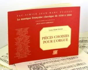 Pièces Choisies Pour Orgue - Louis Marchand - laflutedepan.com