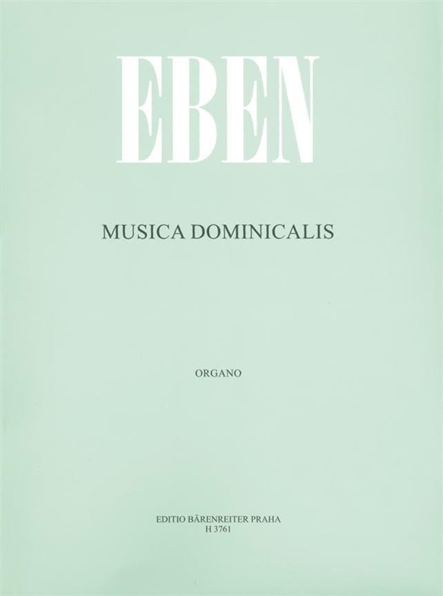 Petr Eben - Musica Dominicalis - Partition - di-arezzo.co.uk