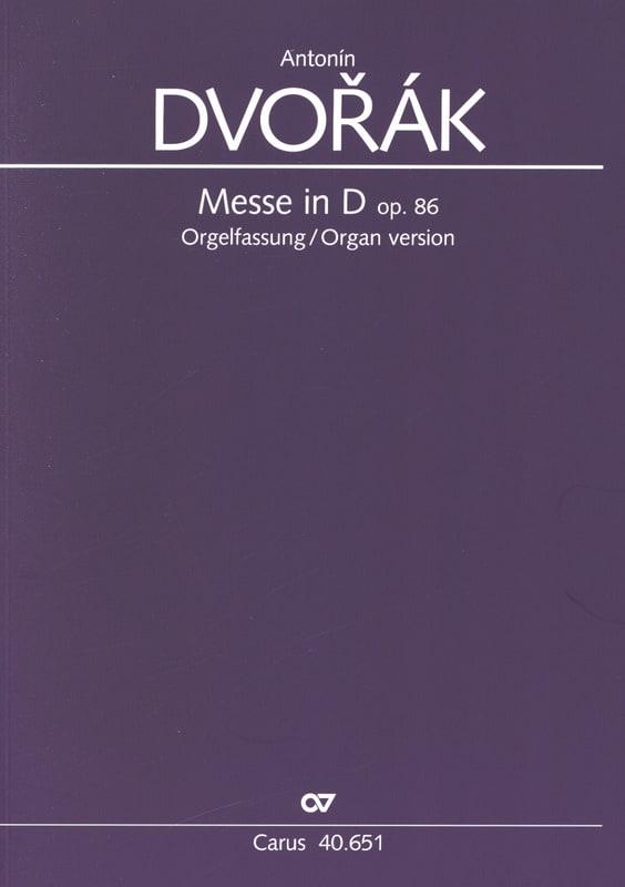Messe En Ré Opus 86 Version Choeur et Orgue - laflutedepan.com
