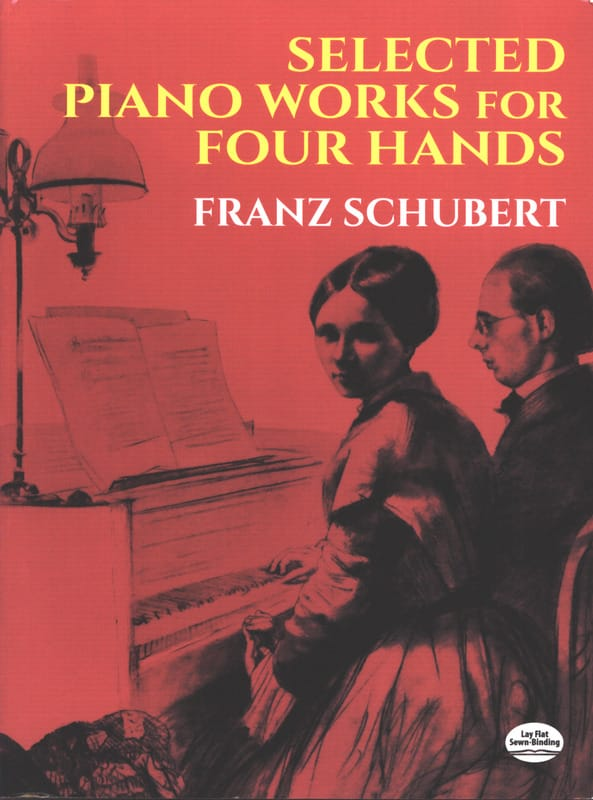 SCHUBERT - Selected Piano Works. 4 Hands - Partition - di-arezzo.co.uk