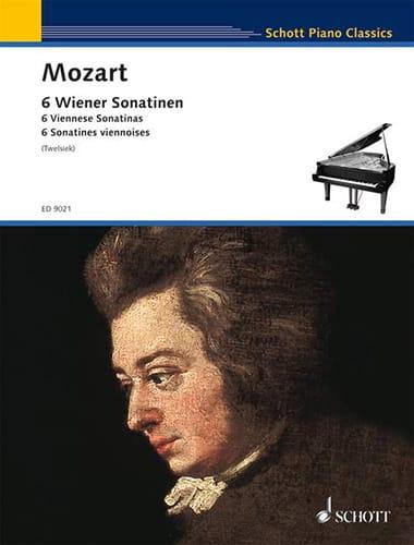 MOZART - 6 Viennese Sonatins - Partition - di-arezzo.co.uk