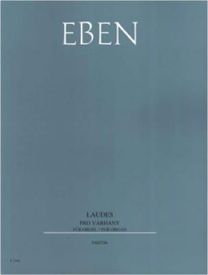 Petr Eben - Lauds - Partition - di-arezzo.co.uk