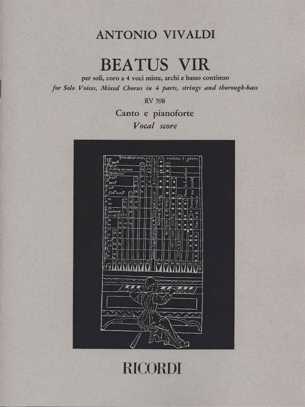 VIVALDI - Beatus Vir - Partition - di-arezzo.co.uk