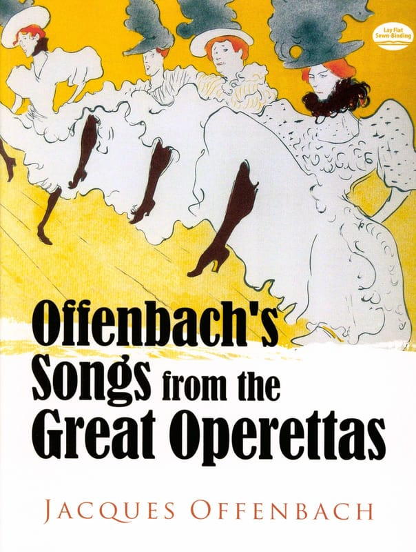 Jacques Offenbach - Songs From The Great Operettas. - Partition - di-arezzo.com