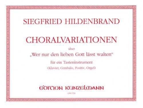 Choral-Variations Sur wer Nur Den Lieben Gott Lässt Walten - laflutedepan.com