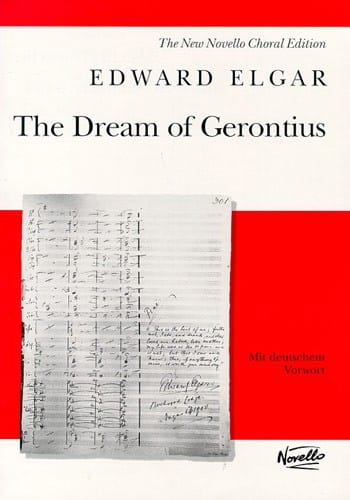 ELGAR - The Dream Of Gerontius Op. 38 - Partition - di-arezzo.com